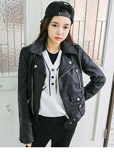 Today's Hot Pick :Classic Rider Jacket http://fashionstylep.com/SFSELFAA0006952/yubsshopen/out Give it up for this rockstar piece. The classic rider jacket, edgy, bold and daring all in one. With its convertible collar, long sleeves with zipper side wrists, off-center zip-up front, shoulder epaulets and zipper pockets with additional snap on pocket. Designed with belt loops at the hem with adjustable buckled belt for a convenient and comfy wear. -Rider jacket -Long sleeves -Zipper pockets…