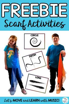Need some scarf movement activity ideas for your music classes? Movement ideas for music, movement, literacy, preschool, elementary, special needs setting. Subscribe to get the 12 Scarf activities for free from Sing Play Create Music Education Resources. www.singplaycreate.com #scarfmovementactivities, #musicandmovement, #movementactivities, #singplaycreate, #musiceducationclass, #musiclessons