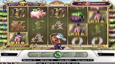 Piggy Riches  ist ein Spielautomaten mit 5 Rollen und 15 Gewinnlinien erstellt von NetEnt. Kostenlos spielen auf AutomatenSpieleX.com: http://automatenspielex.com/kostenlos-spiele/piggy-riches/