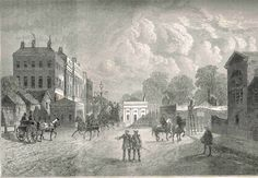 Old Hyde Park in 1822.