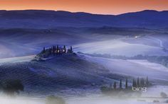 Bing Image Archive: A hilltop villa in the Val d'Orcia, Province of Siena, Tuscany, Italy (© SIME/eStock Photo)(Bing United States) Elba, Siena, Landscape Photos, Landscape Photography, The Places Youll Go, Places To Visit, Tuscany Italy, Villa Tuscany, Visit Italy