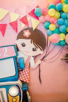Kara's Party Ideas Filipino Fiesta Birthday Party | Kara's Party Ideas Fiesta Theme Party, Birthday Party Themes, Birthday Kids, Birthday Display, Fiesta Decorations, Banner, Backdrops For Parties, Filipino Girl, Party Planning