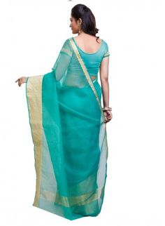 Green kota Doria  Sraee With  Border #saree, #festivalsaree, #bucksbenefit #onlinesaree, #desigersaree, #partywearsaree, #colorfulsaree, #handworksaree