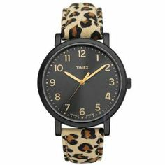 Timex Ladies Watch T2N714 by Timex. $39.95. Timex Women's Easy Reader Leopard Leather Watch T2N714