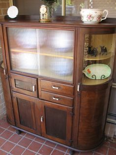 look past the bits and pieces on it how gorgeous is this 50s kitchen dresser bits and pieces furniture