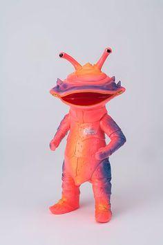 Yamanaya Kaiju-Kyo Sofubi Series: Kanegon Up for pre-order at AmiAmi! Japanese Toys, Vintage Japanese, Vinyl Toys, Vinyl Art, Medan, Big Girl Toys, Japanese Monster, Monster Toys, Scary Monsters
