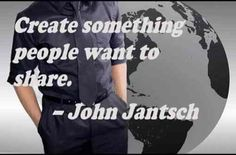 108 Famous Picture SEO Quotes from Top Marketers,image-6,Create something people want to share. ] – John Jantsch