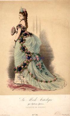 La mode artistique, 1870