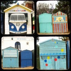 Broadstairs Beach Huts.   Traditional seaside town with lovely sandy beaches and a thousand seagulls.