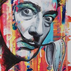 Salvador Dali. Celebrity Paintings Images and Videos. See more art and information about Jonathan Harris, Press the Image.