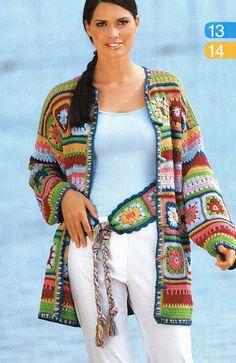 Delicadezas en crochet Gabriela: Prendas con grannys