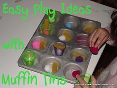 Muffin Magic...Recipes for Play and Eating!