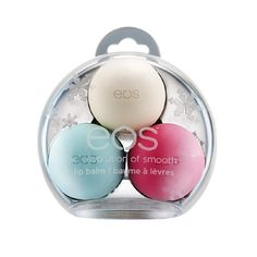 EOS Smooth Lip Balm Sphere Holiday Ornament