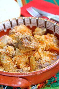Рецепта за готвене на Свинско с кисело зеле на фурна - продукти, начин на приготвяне. Как да сготвим Свинско с кисело зеле на фурна - изпробвана рецепта за вкусни резултати!