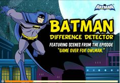 Batman Difference game online