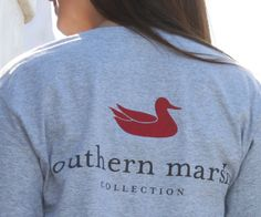 Our most popular shirt, featuring the Southern Marsh mallard silhouette logo on the back, and our Authentic logo on the front pocket. Available in all kinds of great colors! The Southern Marsh Authent