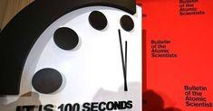 Nos seus 73 anos de história, o Relógio do Juízo Final está mais perto da meia-noite do que nunca