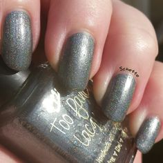Don't Drink the Water - Too Fancy Lacquer - October Holo Grail Box