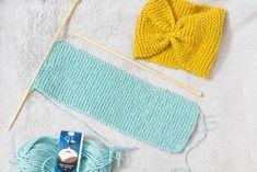 Kudottu hiuspanta on nopea ja helppo tehdä. Katso neuleohjeet! Easy Knitting Projects, Fun Projects, Crochet Bikini, Knit Crochet, Diy Clothes, Headbands, Textiles, Diy Crafts, Wool