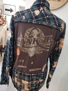 Vintage T-Shirt,Classic Checkered Pattern Fashion Personality Customization