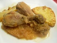 Paprika En La Cocina: Pollo con piña al Oporto