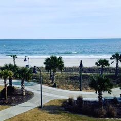 You too can experience a view like this during your Myrtle Beach, South Carolina vacation! (Photo via Instagram by @trishlmi - taken at Bay View Resort) http://www.visitmyrtlebeach.com/hotels/deals/