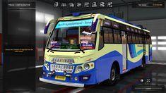 TNSTC BUS mod for Euro Truck simulator/ets2 - Tamil Nadu Bus Game - #ets...