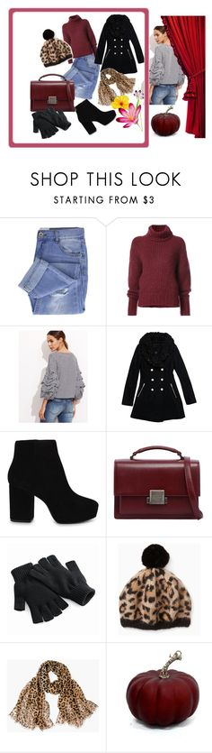 """Bez naslova #336"" by mamila ❤ liked on Polyvore featuring Taya, BY. Bonnie Young, Wilsons Leather, ALDO, Yves Saint Laurent and Chico's"