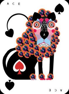 An-Ace-in-the-Pack-Playing-Cards-Ace-of-Spades-2 | more here: http://playingcardcollector.net/2013/10/07/an-ace-in-the-pack-playing-cards-by-lesley-barnes/