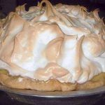 HOMEMADE LEMON MERINGUE PIE Ingredients: 1 cup white sugar 2 tablespoons all-purpose flour 3 tablespoons cornstarch teaspoon salt. 1 cups water 2 lemons, juiced and zested 2 tablespoons butter 4 egg yolks, beaten 1 inch) pie crust, baked 4 egg Lemon Recipes, Pie Recipes, Cooking Recipes, Easy Recipes, Skinny Recipes, Recipies, Delicious Recipes, Family Recipes, Easy Cooking