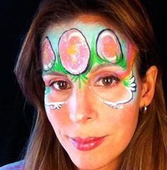 Easter Face Painting VIDEO Tutorial – Glitter Eggs—Face Painting Tips Shop