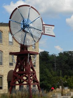 City Hall and Old Windmill