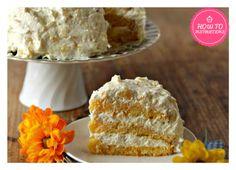 Pineapple-Orange Sunshine Cake