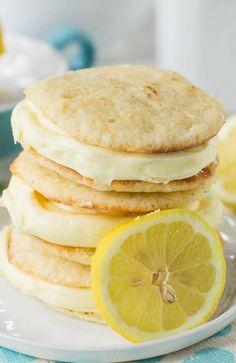 Lemon Whoopie Pies #G5socialtastekitchen #wherewetastetheweb