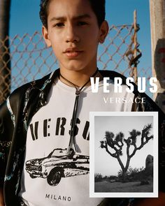 """Versus Versace unveiled theirSpring/Summer 2018 advertising campaign, Shot by Ben Stills. Called """"Sub Versus 2"""", this is follow-on from the """"Sub Versus"""" campaign of FW17 and is a quest to show the authenticity of a new generation of youth. A generation of cultural innovators who thrive on diversity through their music, their art, their local … Continue reading VERSUS VERSACE Spring/Summer 2018 Campaign →"""