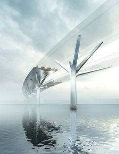 Foster + Partners to create a pair of river bridges in southeast England