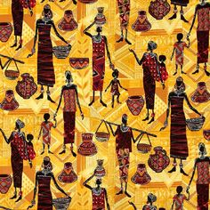 African Masai Women Great Warriors, African Design, East Africa, African Fabric, Tribal Prints, Fabric Design, Printing On Fabric, Folk, Textiles