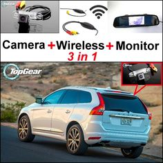 64.43$  Watch here - http://alih9v.worldwells.pw/go.php?t=32470203362 - 3 in1 Special Rear View Wifi Camera + Wireless Receiver + Mirror Monitor Easy DIY Buck Up Parking System For Volvo XC60 64.43$