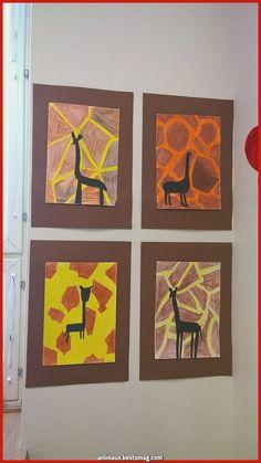 66 Ideas For Zoo Animal Art Projects Zebra Kunst, Zebra Art, African Art Projects, Animal Art Projects, African Art For Kids, Tracing Art, Afrique Art, School Art Projects, African Animals