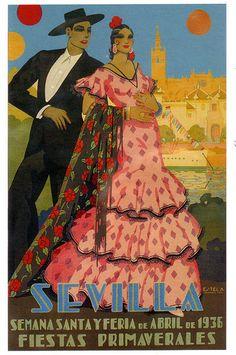 Seville April Fair poster  1936
