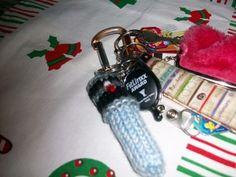 Lightsaber Chapstick Cozy Knit Pattern