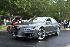 Audi S8... Go fast or go home!