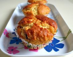 Cranberry, Orange and Chocolate Chip Muffins