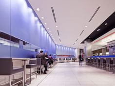 TEC Urban Eatery: Chroma Cobalt + Reflect