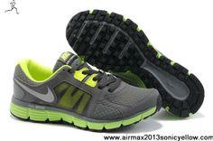 2013 New Mens Nike Dual Fusion ST 2 454242-002 Dark Grey Volt Metallic Silver Fashion Shoes Shop