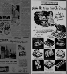 Make-Up to her this Christmas - Gold & Co - 1950