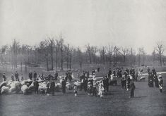This is a picture of Central Park in the early 1900s.  The jinni was fascinated by the vastness of Central Park, which encompassed the fountain where he met Sophia Winston.  The picture above displays the amount of people who enjoyed the area daily.