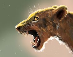 """Check out new work on my @Behance portfolio: """"The Lion"""" http://be.net/gallery/57689935/The-Lion"""