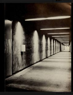 The tunnels at Carleton University