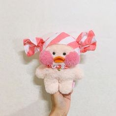 Cute Ducklings, Mochi, Duck Toy, Disney Toys, Pink Outfits, Little Babies, Plushies, Teddy Bear, Dolls